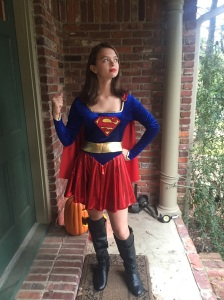Halloween 2015. Our Super Supergirl.